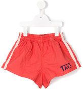 The Animals Observatory - striped side shorts - kids - Cotton - 2 yrs