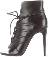 Ruthie Davis Peep-Toe Ankle Boots