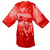 Cathy's Concepts Women's Monogram Satin Robe