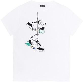 Il Gufo Printed cotton T-shirt