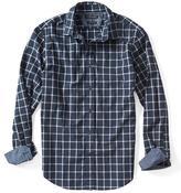 Banana Republic Grant-Fit Custom Wash Plaid Shirt