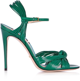 Gucci Allie leather high-heel sandals
