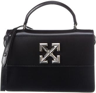 Off-White Arrow Leather Shoulder Bag