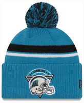 New Era Carolina Panthers Diamond Stacker Knit Hat