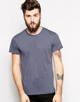 Farah T-shirt With F Logo In Slim Fit - Exclusive