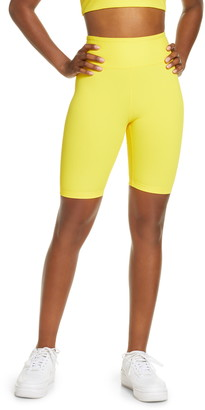 YEAR OF OURS High Waist Ribbed Biker Shorts