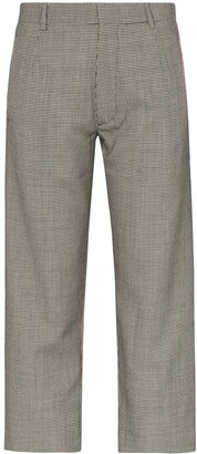 Delada Dogtooth Slim Fit Trousers