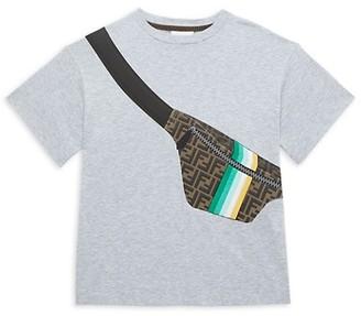 Fendi Little Boy's & Boy's Fanny Pack Graphic T-Shirt