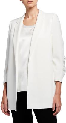 Lafayette 148 New York Cole Finesse Crepe Jacket