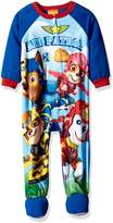 Nickelodeon Toddler Boys' Paw Patrol Fleece Footed Blanket Sleeper