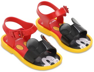 Mini Melissa Mickey Mouse Scented Rubber Sandals