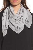 Rag & Bone Dagger Print Silk Scarf
