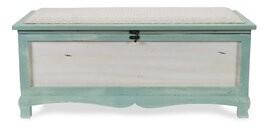 Bungalow Rose Bastia Solid Wood Flip Top Storage Bench