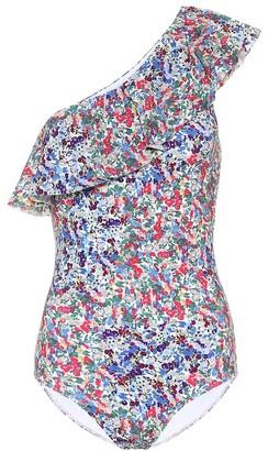 Isabel Marant Sicilya printed swimsuit