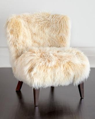 Massoud Lanza Sheepskin Chair