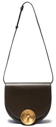 Marni Monile Color-block Leather Shoulder Bag