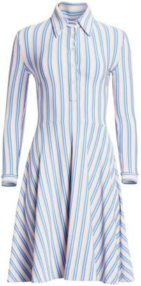 Calvin Klein Striped Shirtdress