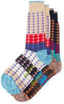 Robert Graham Two-Pack Houndstooth Pattern Socks