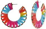 Bijoux Bar Rainbow Hoop Earrings