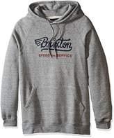 Brixton Men's Mach Hooded Fleece