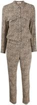 Zadig & Voltaire Zadig&Voltaire leopard-print jumpsuit