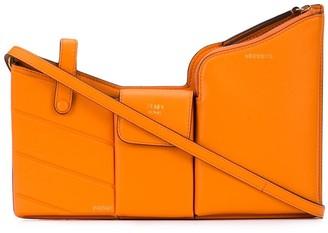 Fendi Structured Shoulder Bag