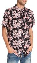Imperial Motion Men's Flora Trim Fit Woven Shirt