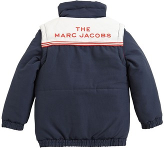 Little Marc Jacobs 2 In 1 Nylon Down Jacket