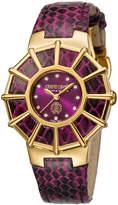 Roberto Cavalli Women's Stainless Steel Women's Diamond Watch 37.5,mm