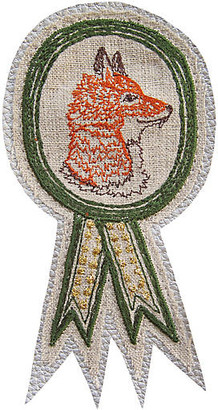 Coral & Tusk Foxy Badge Pin