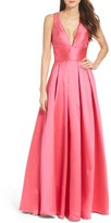 Mac Duggal Women's Satin Twill Ballgown