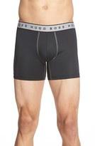 BOSS Men's Cyclist 2-Pack Microfiber Boxer Briefs