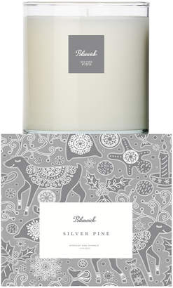 Bluewick Home & Body Co. 12.5Oz Holiday Essentials Collection Silver Pine Scented Candle
