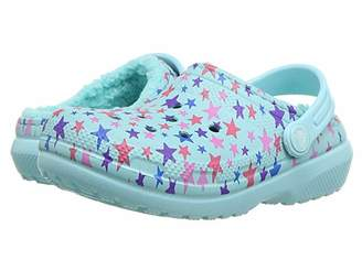 Crocs Classic Printed Lined Clog (Toddler/Little Kid)