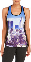 Juicy Couture Sport Racerback Graphic Compression Tank