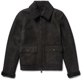 Todd Snyder Shearling Flight Jacket