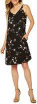 WORTHINGTON Worthington Sleeveless Floral Shift Dress