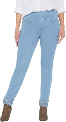 Belle By Kim Gravel Belle by Kim Gravel Flexibelle Pull-On Camo Cuffed Jeans