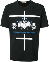 Undercover bat print T-shirt - men - Cotton - 2