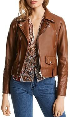 Mila Louise Lini Leather Moto Jacket - 100% Exclusive