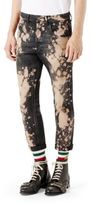 Gucci Bleached Denim Tapered Pants