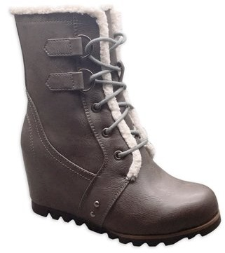 Time and Tru Winter Wedge Boot (Women's)