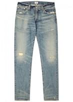 Citizens of Humanity Noah Distressed Slim-leg Jeans