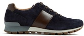 Prada Trace Low-top Suede Trainers
