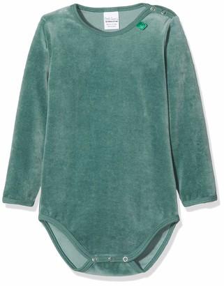 Fred's World by Green Cotton Baby Boys' Velvet Body Shaping Bodysuit