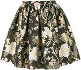 Piccione Piccione Piccione.Piccione full floral print mini skirt