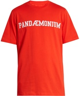 Oamc Pandaemonium-print cotton T-shirt