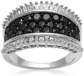 Black Diamond FINE JEWELRY LIMITED QUANTITIES 2 CT. T.W. White and Color-Enhanced Band Ring