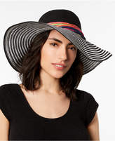 Betsey Johnson Stripe Me Over Floppy Hat