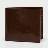 Paul Smith No.9 - Chocolate Brown Patent Leather Billfold Wallet
